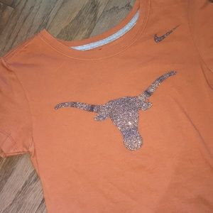 Fitted Nike longhorn shirt